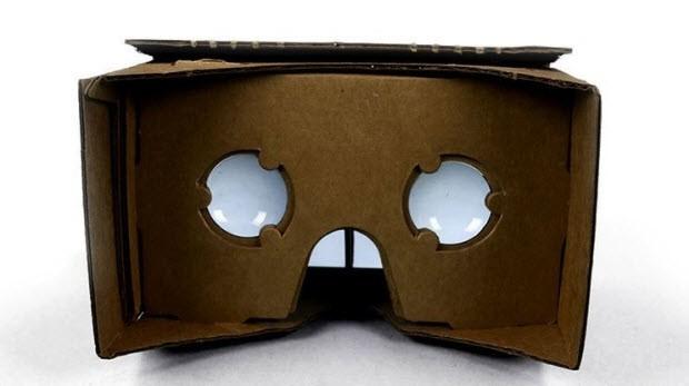 Google'ın sanal gerçeklik gözlükleri
