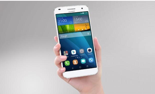 Huawei G7: Tek parça metalik gövdeli