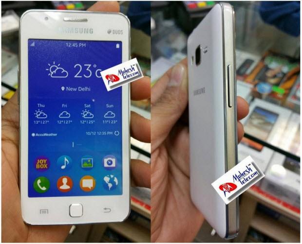 Samsung Z1'den fotoğraflar sızdı