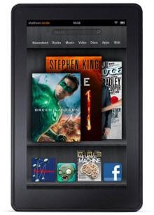 Amazon Kindle Fire ve diğerleri!