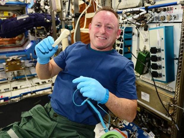 NASA uzay istasyonuna e-posta ile anahtar gönderdi