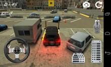 Hummer Car Parking Simulation