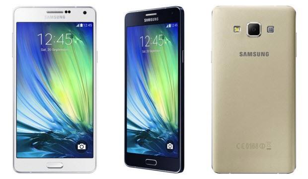 Samsung'tan 5.5 inç'lik yeni Galaxy A7!