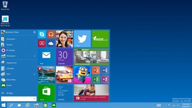 Windows 10'a merhaba