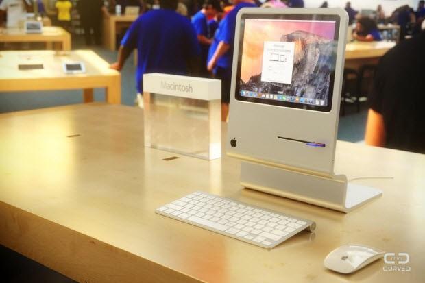 İlk Macintosh gibi bir iMac!