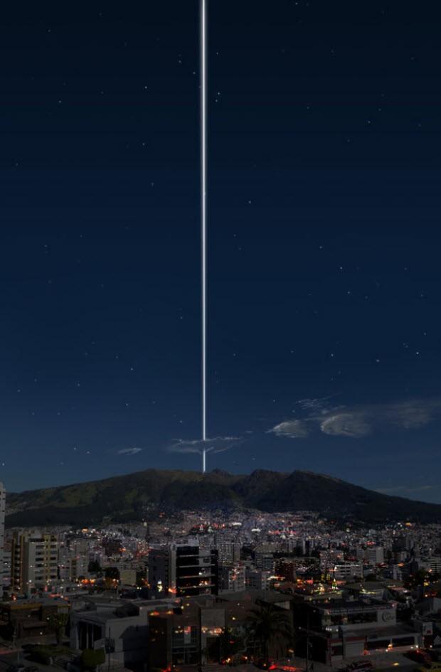 Dünya ve Satürn'ün halkası bir araya gelirse
