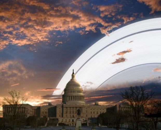 Satürn'ün halkası, Dünya'da da olsaydı...