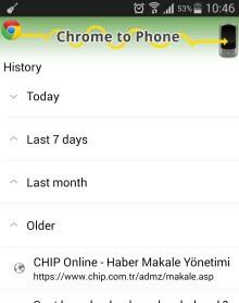 Chrome to Mobile eklentisi yolun sonunda!