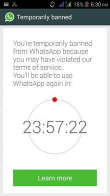 WhatsApp'tan üçüncü parti uygulamalara engel!