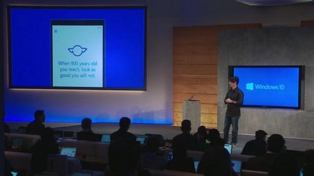 Cortana ve evrensel uygulamalar