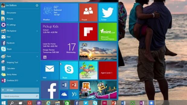 Windows 10'un en son detayları ortaya çıktı!