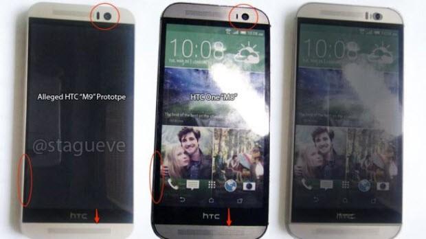 HTC One M9'dan net görüntüler sızdı!