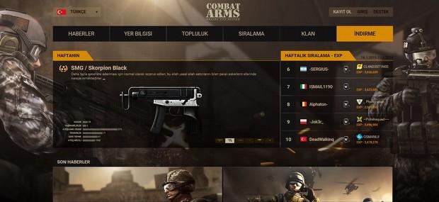 Combat Arms hakkında ilginç istatistikler