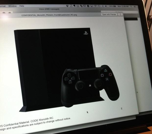 PlayStation 4'ün Slim sürümü bu olabilir mi?