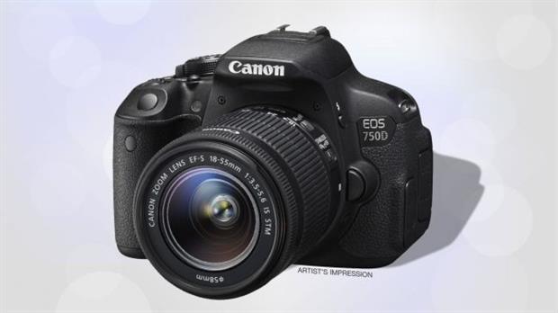 Canon EOS 750D/Rebel T6i
