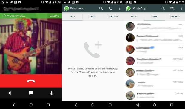 WhatsApp'ın sesli görüşme işlevi göründü!