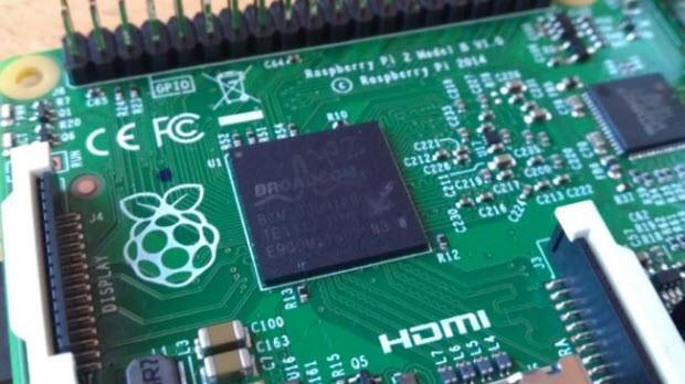 Raspberry Pi 2 performans testinde!