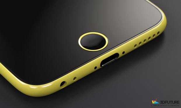iPhone 6C konseptinden 3 kare daha!