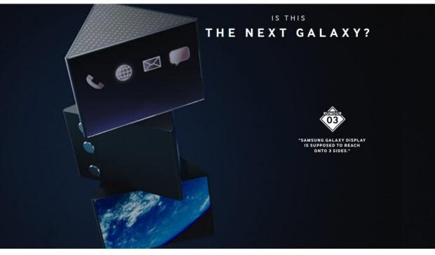 Samsung'tan iki garip S6 konsepti daha!