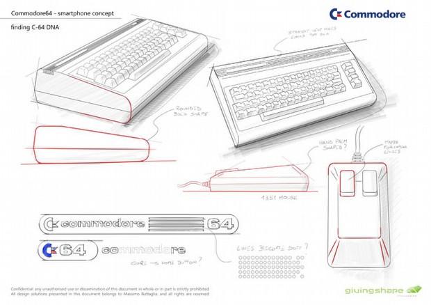 Commodore 64 tasarımlı bir cebe ne dersiniz?