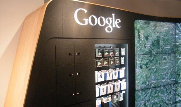 Google'ın ilk gerçek mağazasından kareler!