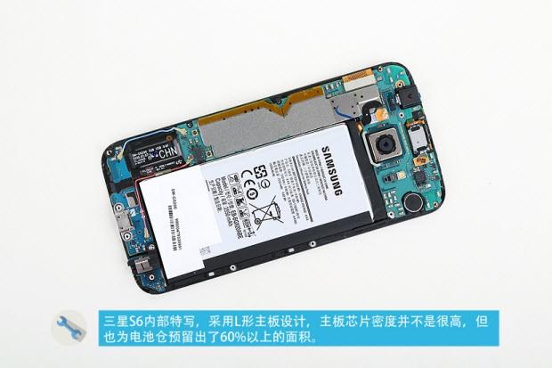 Galaxy S6'nın içini açtılar!