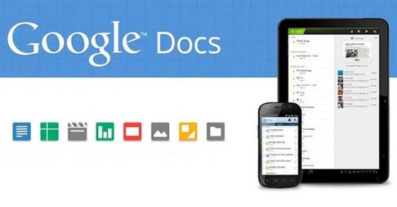 Google Docs artık tam sayfa gösterecek