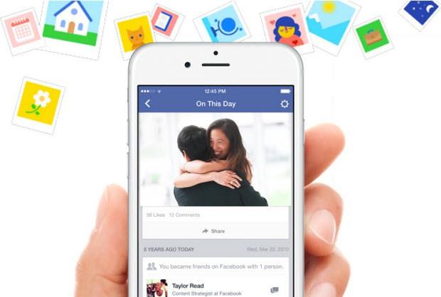 "Facebook'tan yeni ""On This Day"" özelliği"