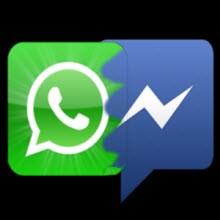 WhatsApp vs. Facebook Messenger!