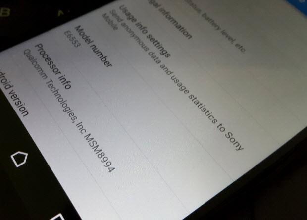 Xperia Z4'ün kamerası ve arayüzü sızdı!