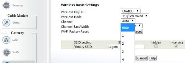 Wi-Fi kanalı, kör noktalar...