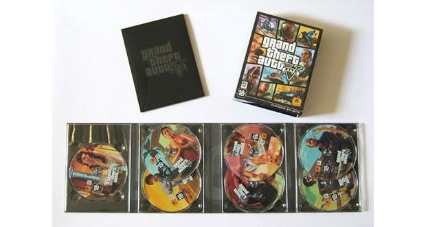 GTA 5'in PC sürümü, 7 DVD ile geliyor!