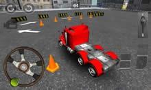 Kamyon Parketme Oyunu 3D