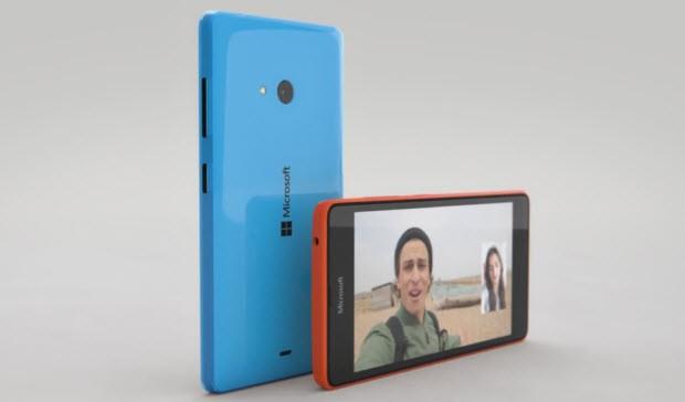 Microsoft, Lumia 540 Dual SIM'i tanıttı!