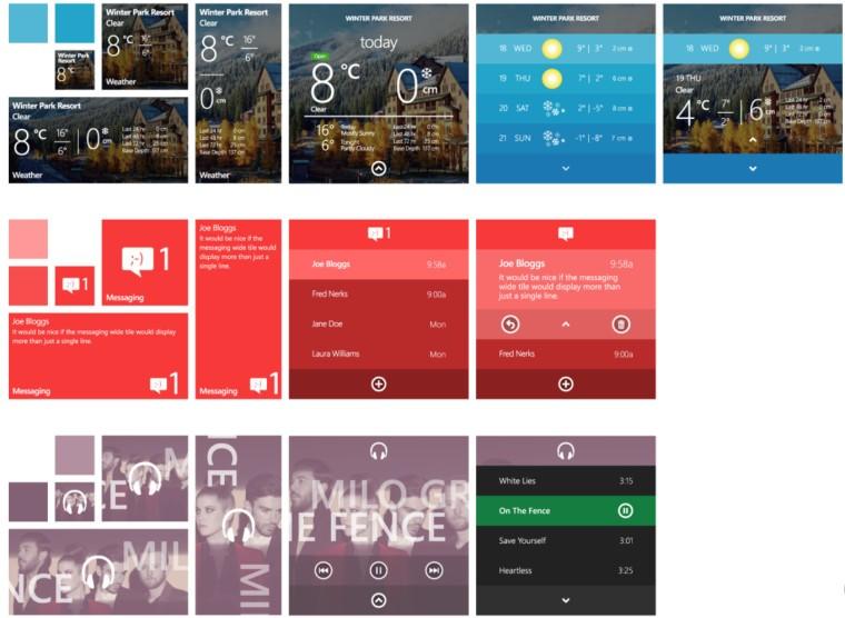 Windows X for Phone'dan 3 kare daha!