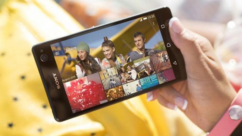 Selfie odaklı Sony Xperia C4 tanıtıldı!