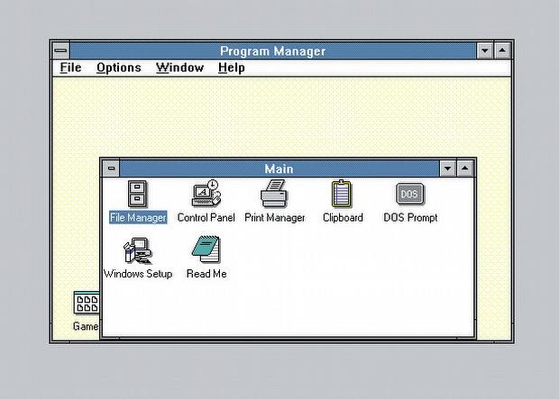 Windows 3.0, 95 ve XP