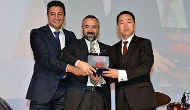 Huawei'den Arena'ya ödül