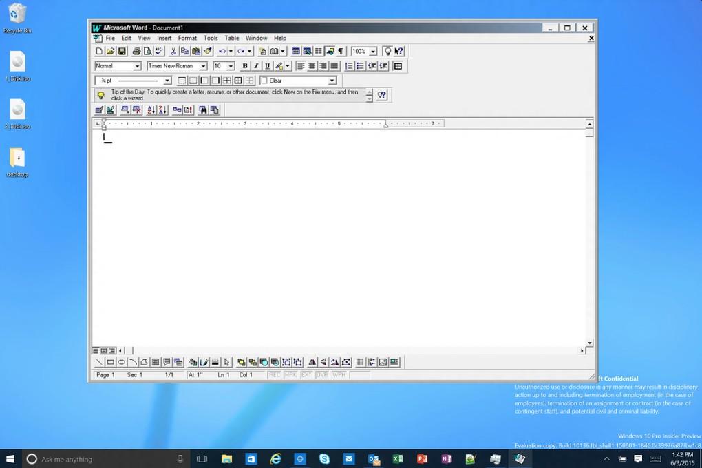 Windows 10 yapı 10136'da yeni simgeler!