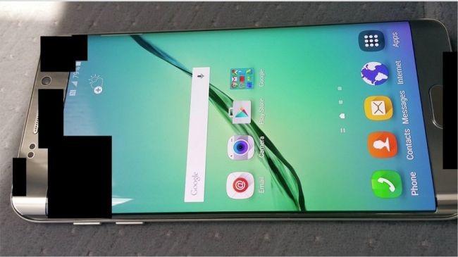 Galaxy S6 Edge Plus'tan görüntü sızdı!