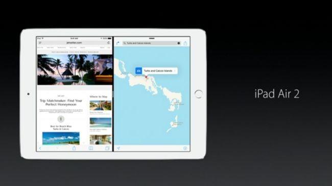 iPad'e özel yenilikler