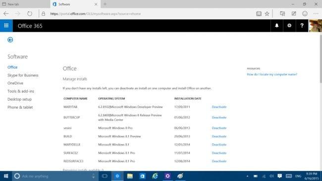 Adı Windows 365 değil