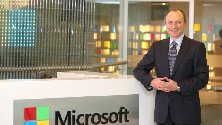 O, Microsoft Türkiye'nin yeni Genel Müdürü!