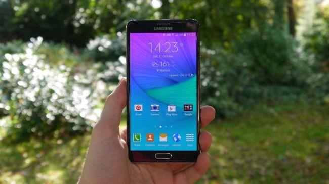 1. Samsung Galaxy Note 4