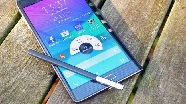4. Samsung Galaxy Note Edge