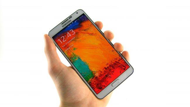 6. Samsung Galaxy Note 3