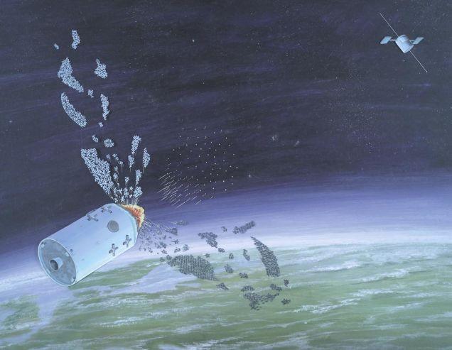 Tepemizdeki Uydular Bir Anda Ortadan Kalkarsa...
