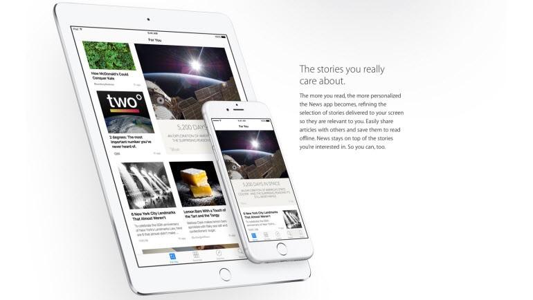 News uygulaması, gelişmiş arama ve fazlası