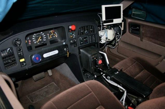 10. Direksiyon yerine joystick