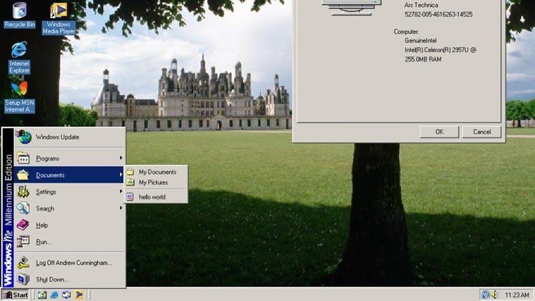 Windows ME/2000